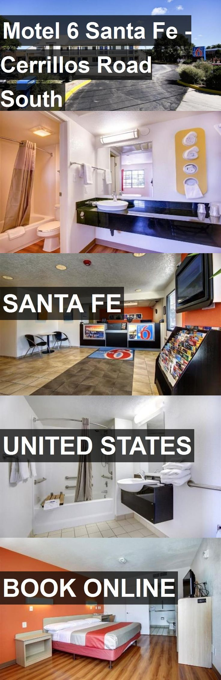 Hotel Motel 6 Santa Fe - Cerrillos Road South in Santa Fe, United States. For more information, photos, reviews and best prices please follow the link. #UnitedStates #SantaFe #travel #vacation #hotel