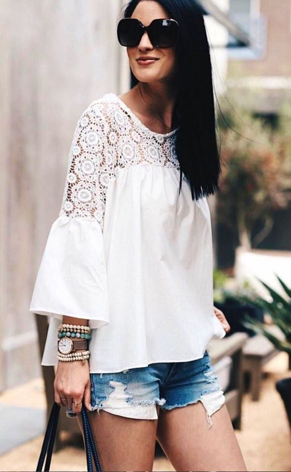 21a4915ab20 60+ Perfectly Gorgeous Spring Outfits To Inspire You