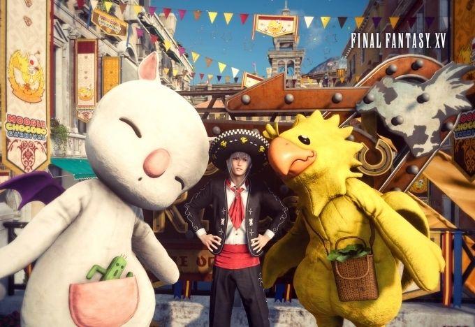Moogle Chocobo Carnival Hits Final Fantasy XV