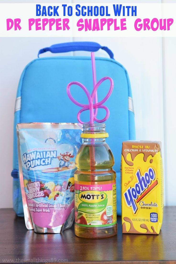 Back To School With Dr Pepper Snapple Group #DPSFlavorTour #Spon  Did you know that Mott's, Yoo-hoo, and Hawaiian Punch, are all just a few of the brands that are part of the Dr Pepper Snapple Group? Me neither! We love these products for back to school because they are easy to pack and fun for my daughter to enjoy.