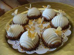 les coquilles ( biscuits fourrés au caramel)