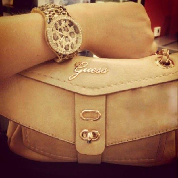 Guess bag & watch<3