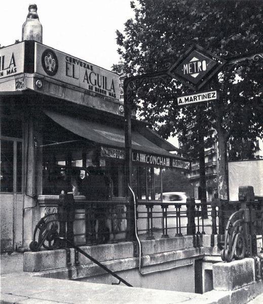 Kiosco Bebidas. Alonso Martínez 1970