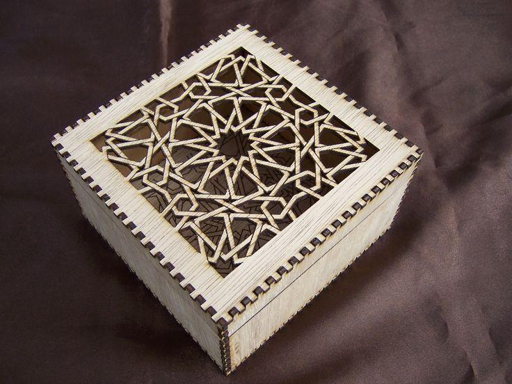 Intricate Laser Cut Trinket Box Laser Designs Engraving