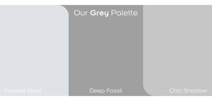 Dulux shades of #grey