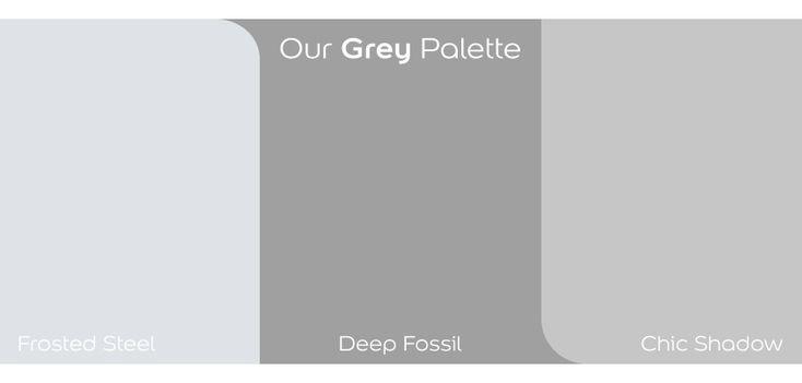 Dulux shades of #grey