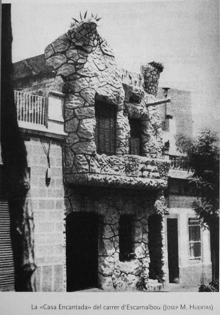 'La casa encantada' carrer Escornalbou, Guinardó..