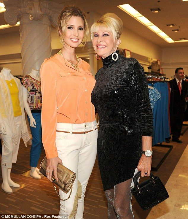 Mothering lessons: Ivanka's famous mother Ivana Trump was strict when she raised her daughter