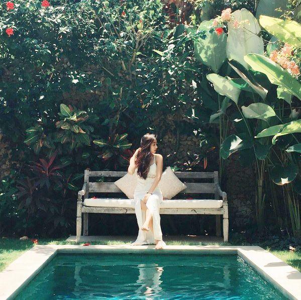 """Beautiful villa in Seminyak"" Our Instagram Photo of the Week goes to: @jeannetyx ❤️  www.villakubu.com #villakubu #villa5 #seminyak #bali #luxury #dreamvacation #tropicalparadise #love #islandlife #wanderlust #sanctuary"