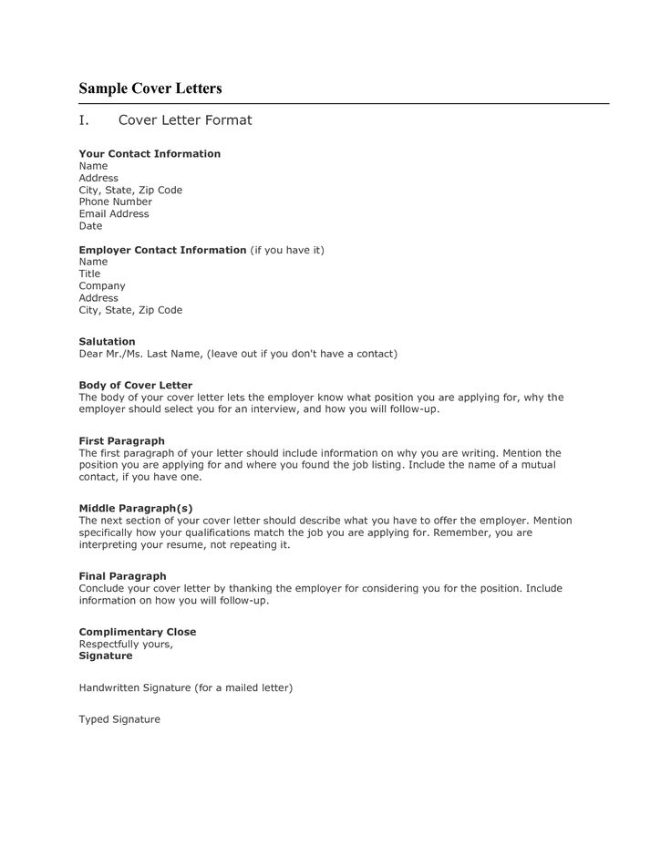 example of a cover letter for a job