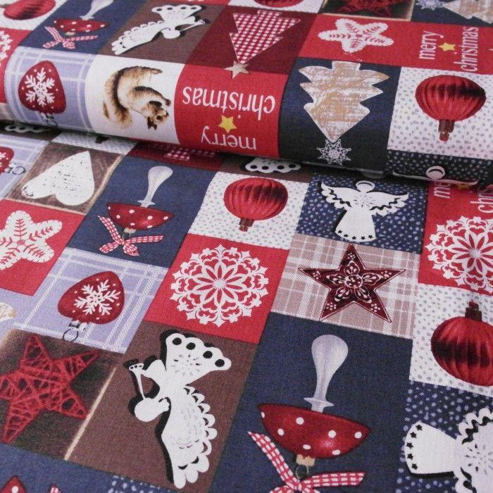 č.4031 Vánoční patchwork