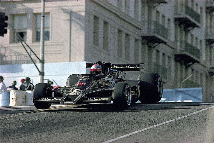 Mario Andretti at Long Beach 1978
