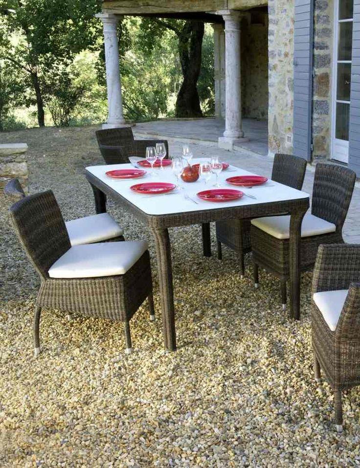 les 25 meilleures id es de la cat gorie table de jardin resine sur pinterest table jardin. Black Bedroom Furniture Sets. Home Design Ideas