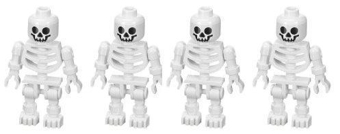Skeleton Swivel Arms 4Pack  LEGO Prince of Persia Minifigure