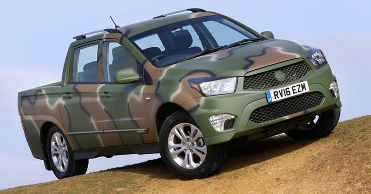 Limited Edition Ssangyong Korando Sports DMZ Called For Duty #New_Cars #SsangYong