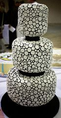 Dotted, Tiered Cake | Flickr - Photo Sharing!
