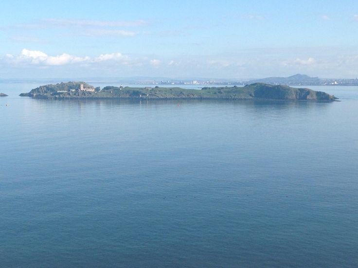 An island across the water