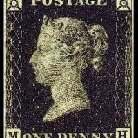 """Penny Black  σαν πατέρας των """"ταχυδρομικών υπηρεσιών"""" και κατά συνέπεια των γραμματοσήμων θα γραφτεί στην ιστορία ο Άγγλος ευγενής σερ Rowland Hill.    το πρώτο φύλλο γραμματοσήμων εκδίδεται τη 1η Μαΐου του 1840 και η υπηρεσία διατίθεται στο κοινό στις 6 Μαΐου 1840 από το Ηνωμένο Βασίλειο της Μεγάλης Βρετανίας και της Ιρλανδίας"""