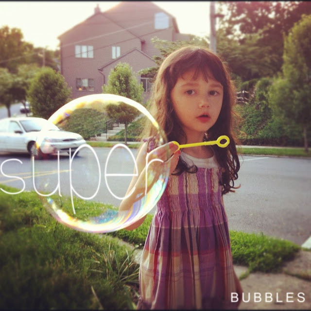 Super Bubble Formula....uses geletin, dish soap/baby shampoo, glycerin, and water. These bubbles are super strong -- won't even pop on the grass!