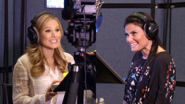 Watch Kristen Bell, Idina Menzel and Others Inside the 'Frozen' Studios   TIME.com