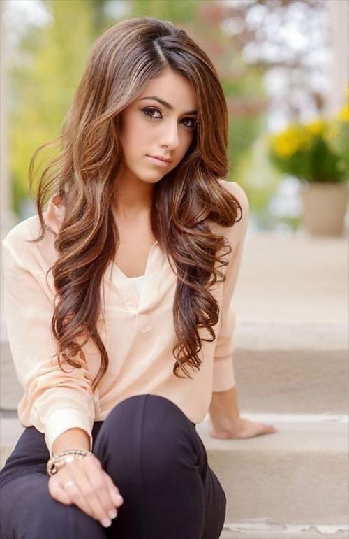 Lange Frisuren für teenager