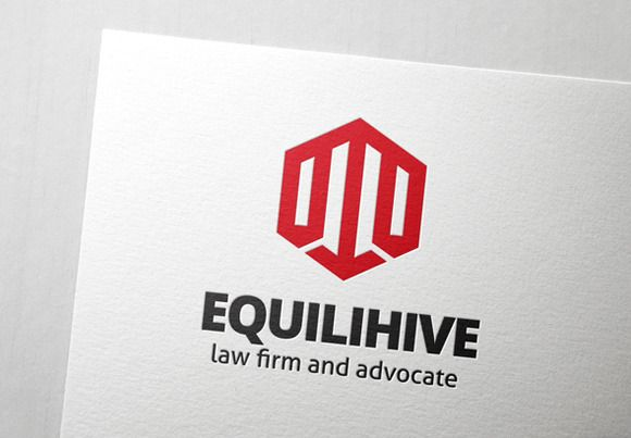 Check out Equilihive Law Logo by Slim Studio on Creative Market
