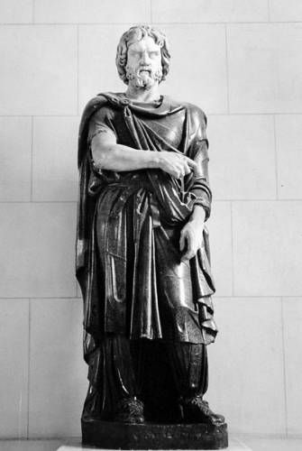 Colossal statue of a Barbarian (Dacian), Louvre Museum, Paris, inv. MA 1385