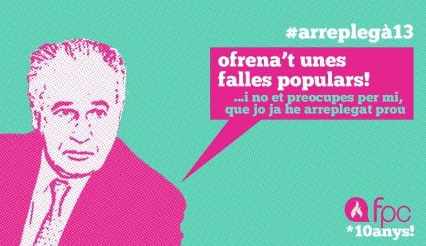 """#FALLES #POPULARS #COMBATIVES #VALENCIA #ARREPLEGA #PPCC #CROWDFUNDING #VERKAMI - Rafael Blasco Castany amb les Falles Populars i Combatives 2013. Ja està ací L'ARREPLEGÀ de les #FPC13! Ni loteria de nadal, ni loteria del """"niño""""! Crowdfunding, que sempre toca!  +INFO: http://fallespopulars.org i https://facebook.com/fallespopularsicombatives  Campaña crowdfunding verkami www.verkami.com/projects/4128"""