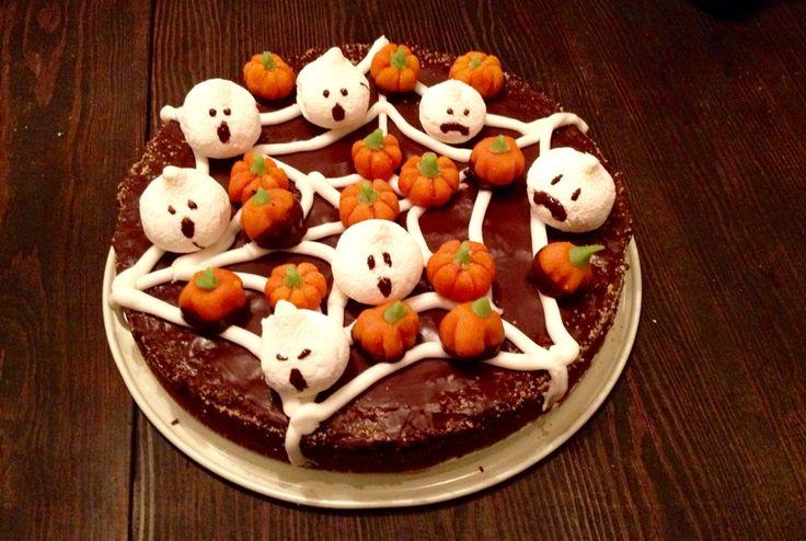 Halloweentårta!