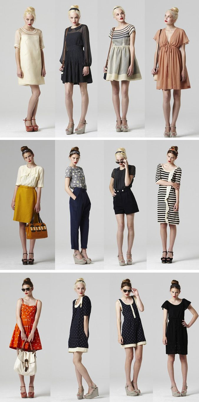Orla Kiely. I like the dresses and skirts minus the shoes.