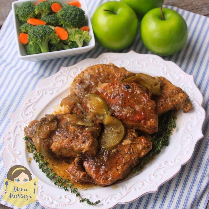Menu Musings of a Modern American Mom: Crock Pot Pork Chops