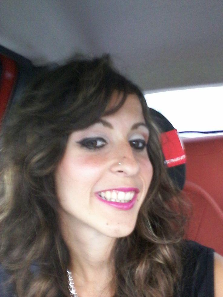 Make up super sexy per serata speciale!  Se volete vedere il tutorial cliccate qui https://www.youtube.com/watch?v=h24hV-cnYNI