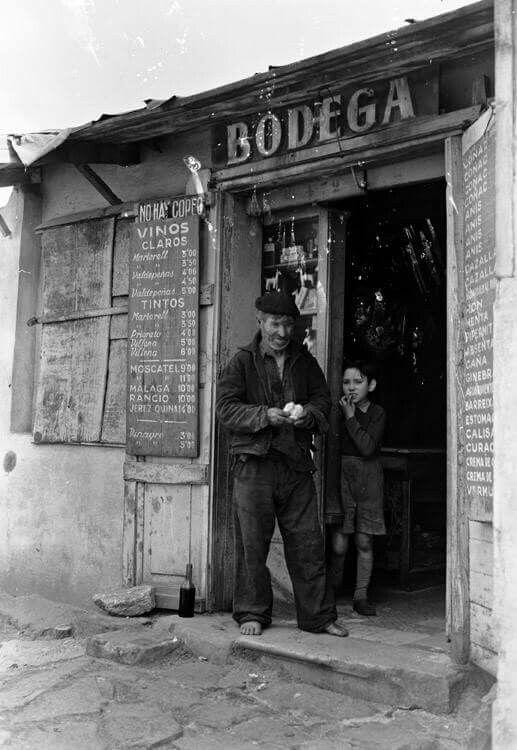 Somorostro, 1954, Barcelona