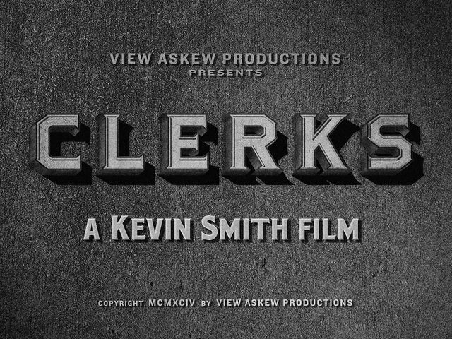 "Movie Titles - ""Clerks"" 