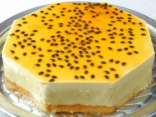 Bolo gelado de maracujá | Cozinhas Itatiaia