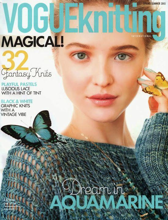 Vogue Knitting 2013 Spring-Summer - kosta1020 - Picasa Albums Web