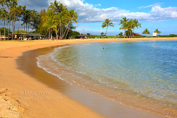 Salt Pond Beach On The South Shore Of Kauai Near Hanapepe