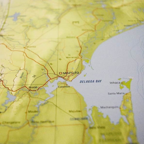 Detail from Limpopo map: Delagoa Bay