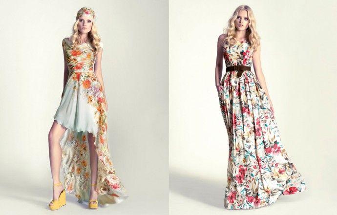 vestidos largos casuales de moda 2013 - Buscar con Google