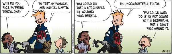 Triathlon humor