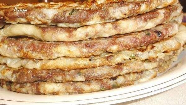 Китайские лепешки с мясом - безумно вкусные и сочные