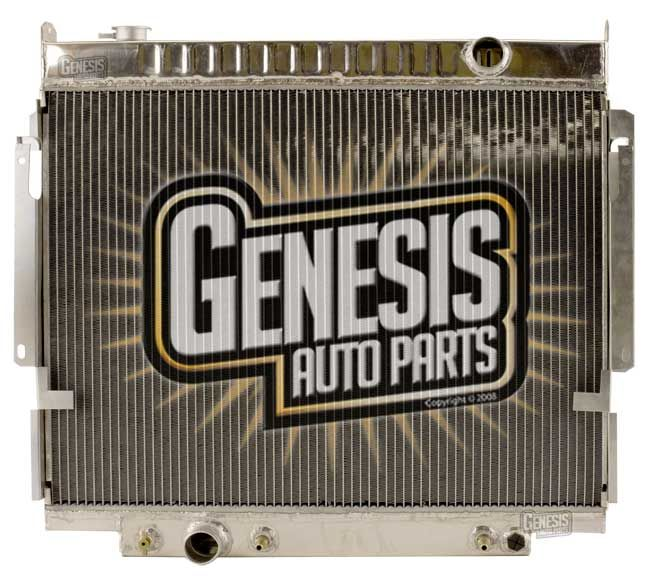 Image of 92 1992 Ford E-150 Econoline Club Wagon All Aluminum Radiator 7.3L V8 446Cid