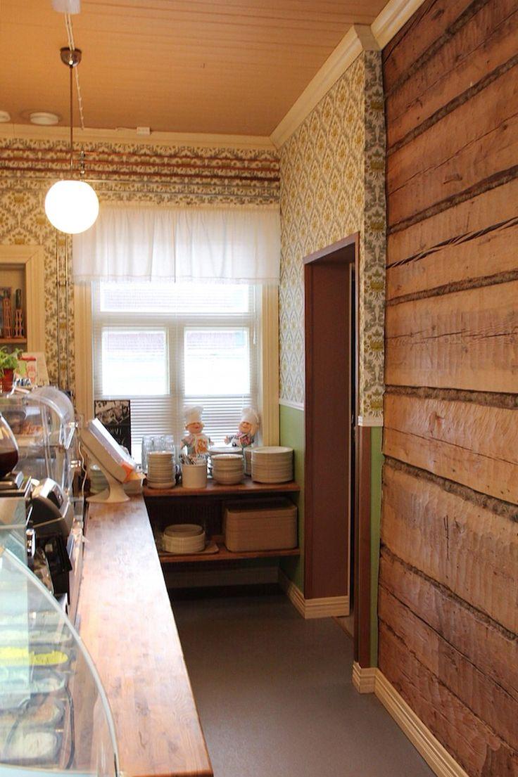 Lounaskahvila signe #hirsitalo #vanhatalo #sastamala #mouhijärvi #kahvila #ravintola #hirsi #hirsiseinä