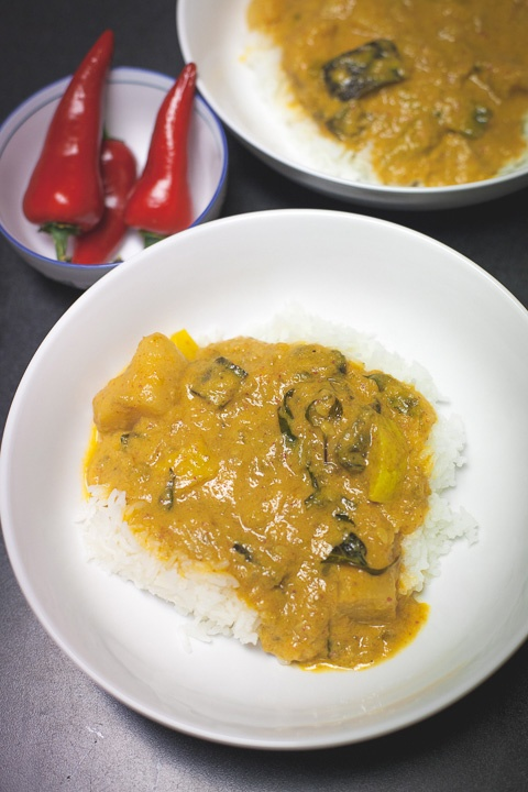 Delicious Monday: vegetarian kaeng ped (Red curry) via Little Tin ...