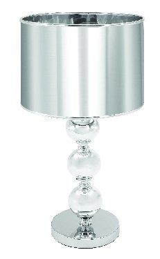 Marvelous Metal Glass Table Lamps With Silver Shade 20: Amazon.com: Home U0026 Kitchen