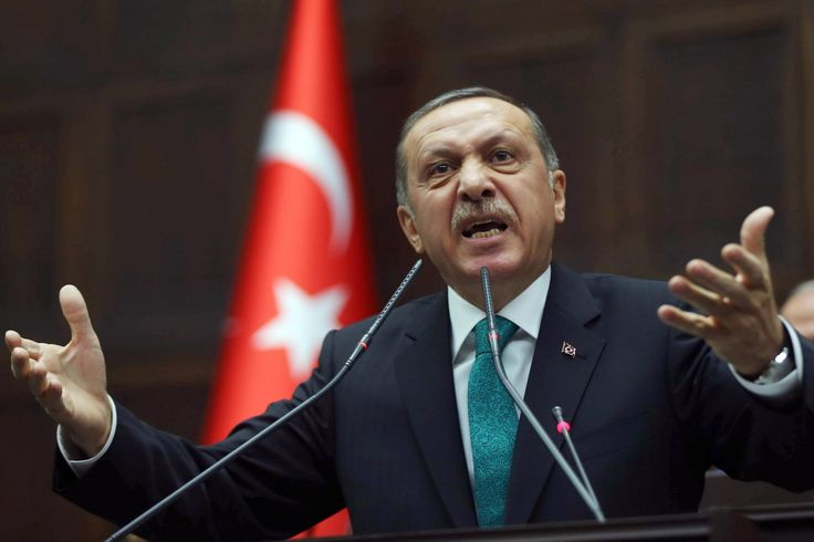 Turkey's Erdogan doubles down on blaming Israel for anti-Semitism, has the gall to claim that actions in Gaza 'surpassed what Hitler did to them'  http://baystateconservativenews.com