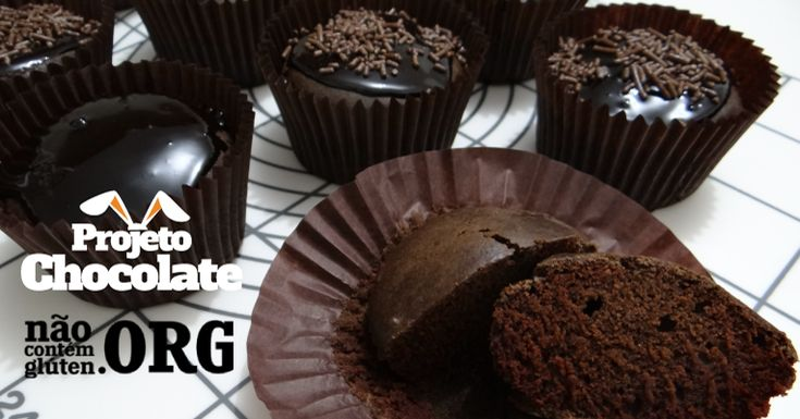 Muffin de Chocolate com Calda - Não Contém Glúten