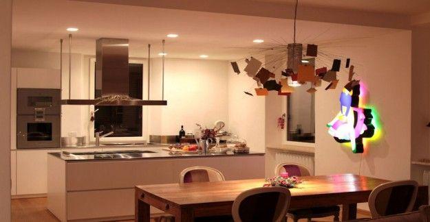 Oltre 25 fantastiche idee su lampadario sala da pranzo su - Illuminazione sala pranzo ...