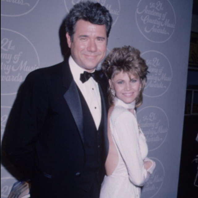 John Larroquette and Markie Post