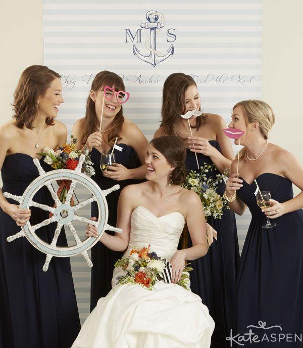 Nautical Photobooth Custom Backdrop Wedding Photobooth Backdrop Nautical Themed Navy Wedding Theme Nautical Wedding Wedding